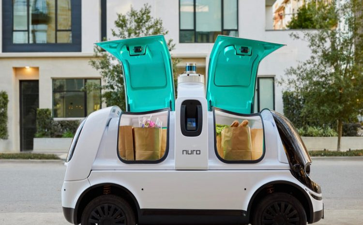 Nuro's cute robot delivery pod takes important step forward in California