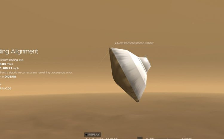 Check out this interactive simulator of upcoming Mars rover landing