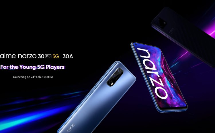Realme Narzo 30 Series, Buds Air 2, Motion Activated Night Light to Launch in India Today: How to Watch Live