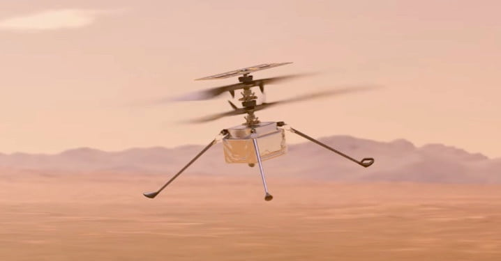 When will NASA's Ingenuity helicopter take its first flight on Mars?