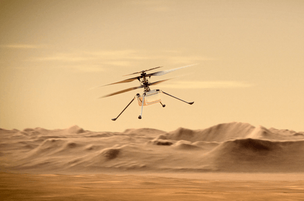 NASA's Mars drone survives malfunction scare during sixth flight