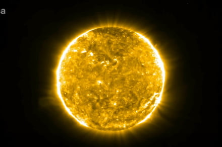 Solar Orbiter captures incredible video of a coronal mass ejection