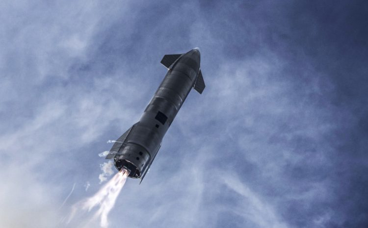 SpaceX reveals plan for Starship's first orbital test flight