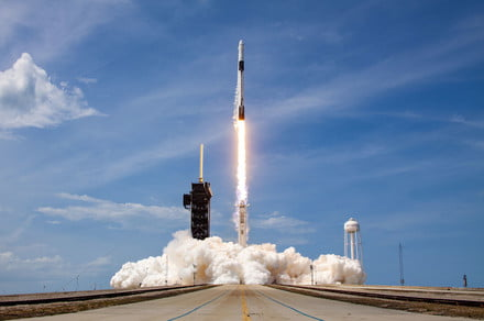 SpaceX's latest launch set new record for rocket's nose cone