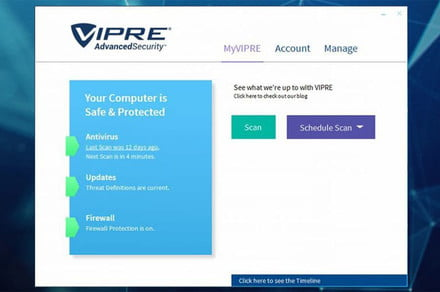 Save $100 on Vipre Antivirus when you subscribe today